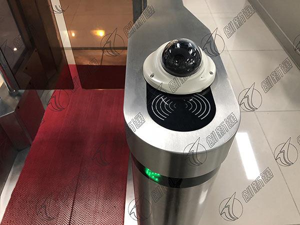 face recognition turnstile gate