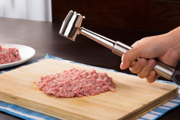 metal meat tenderiser
